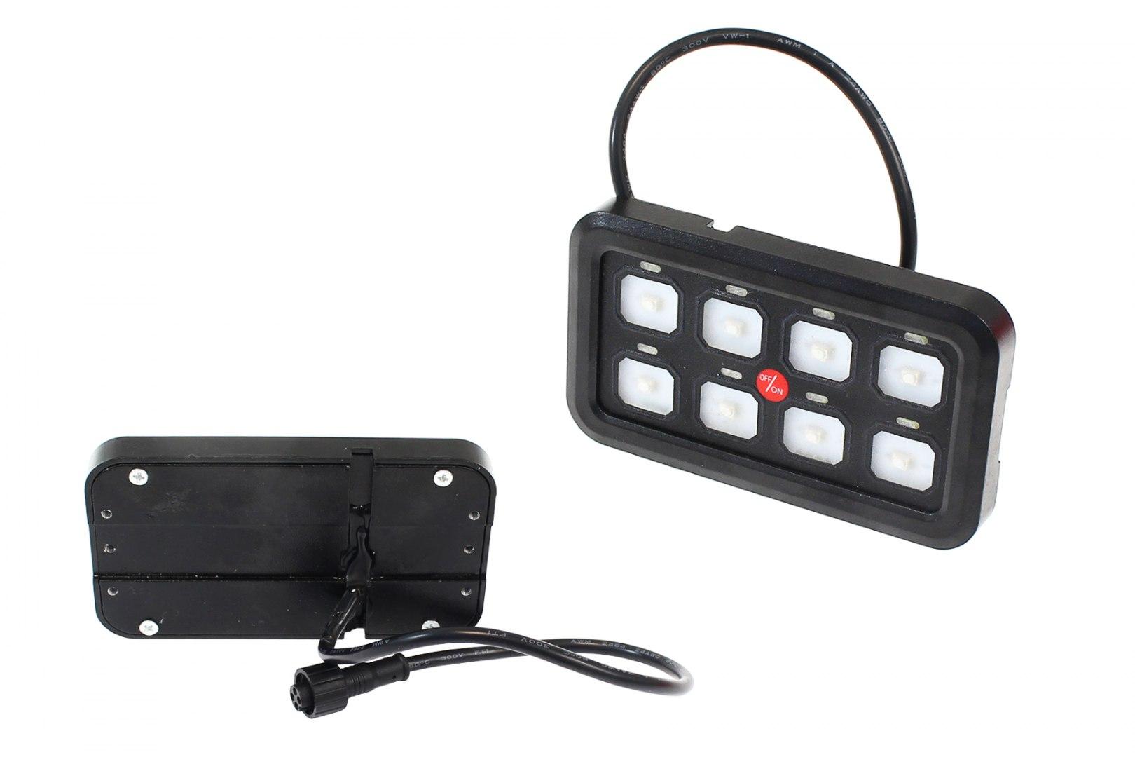 Zestaw 8 przełączników z kontrolerem obiegu - GRUBYGARAGE - Sklep Tuningowy
